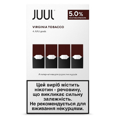 Картридж JUUL Pods Virginia Tobacco Оригинал
