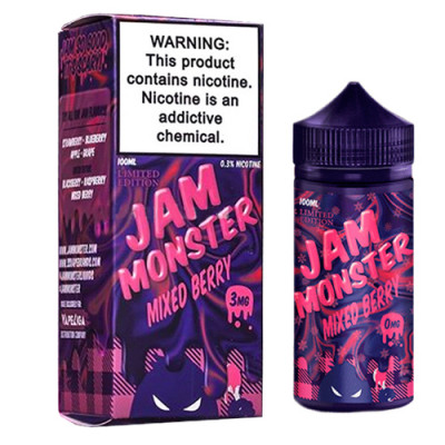 Жидкость Jam Monster - Mixed Berry 100мл 3мг