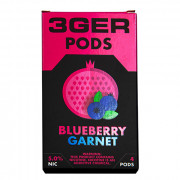 Картриджи для JUUL 3GER Pods - Blueberry Garnet 5%