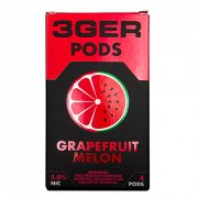 Картриджи для JUUL 3GER Pods - Grapefruit Melon 5%