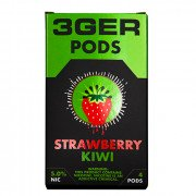 Картриджи для JUUL 3GER Pods - Strawberry Kiwi 5%