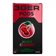 Картриджи для JUUL 3GER Pods - Mint Cherry 5%